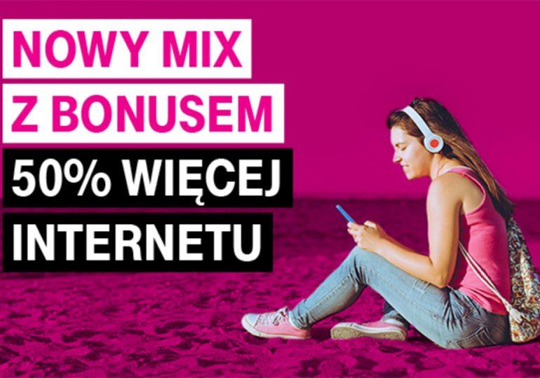 Nowy Mix w T-Mobile - więcej internetu, ale czy się opłaca?