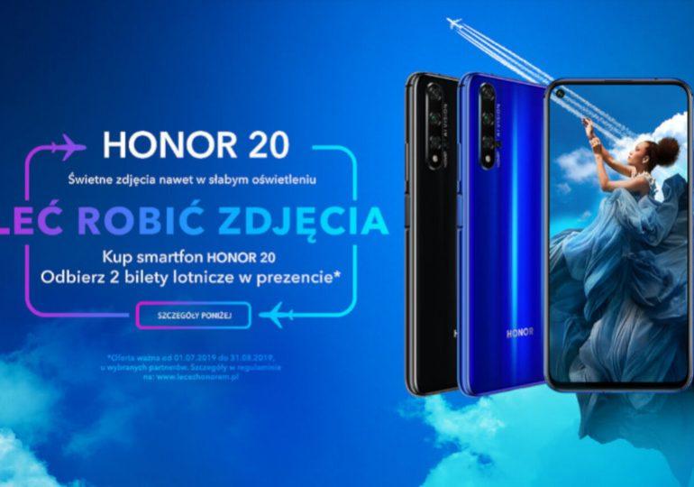 """Honor 20 w Play i promocja """"Leć robić zdjęcia"""""""