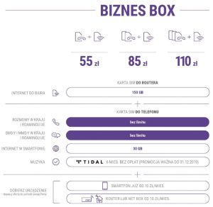 Play dla firm biznes box