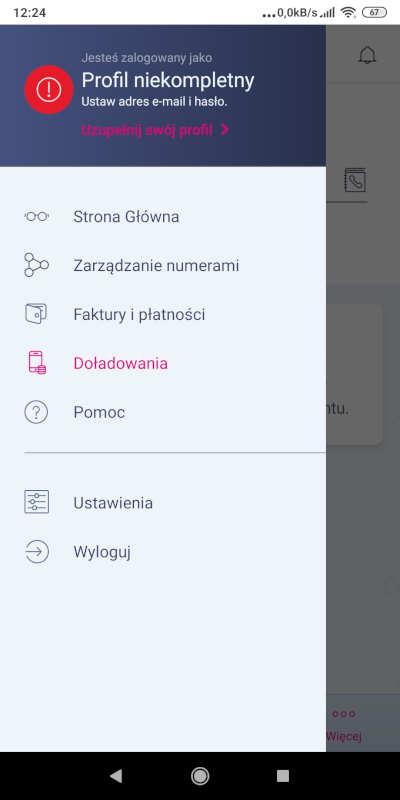menu boczne