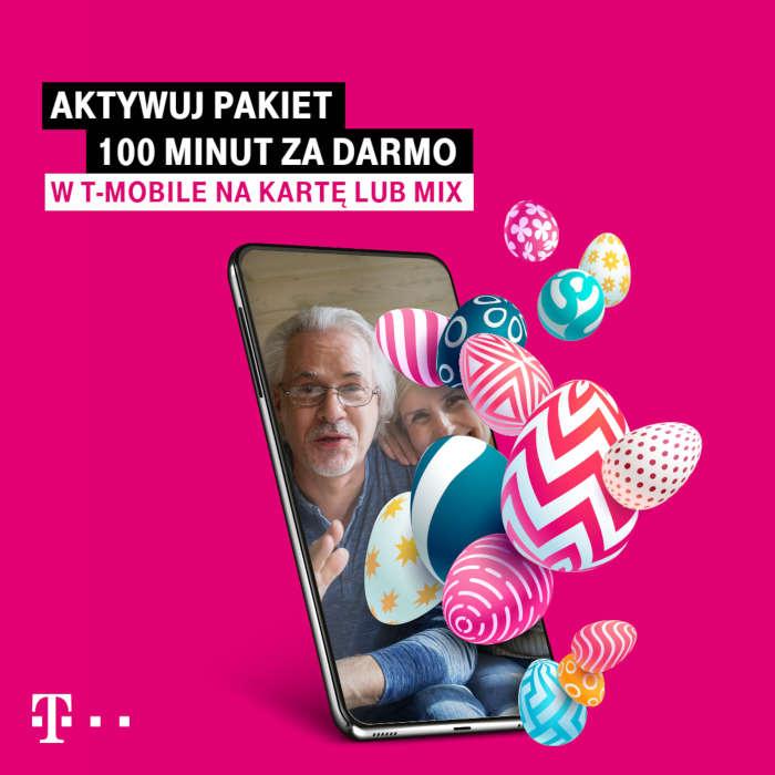 100 darmowych minut od T-Mobile