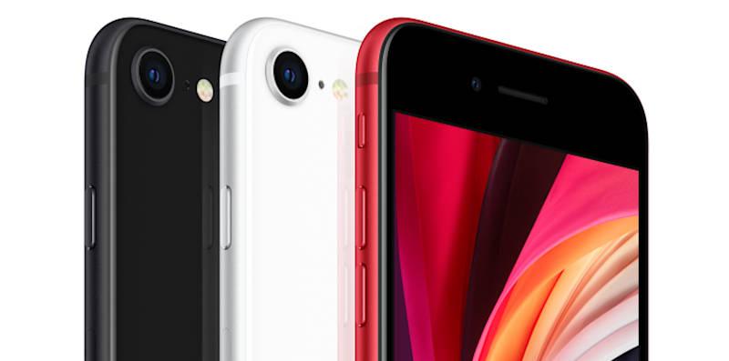 iPhone SE w Orange