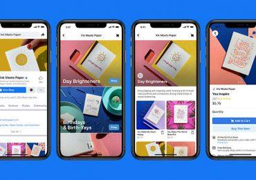 Facebook Shops, czyli sklepy w aplikacji Facebook i na Instagramie