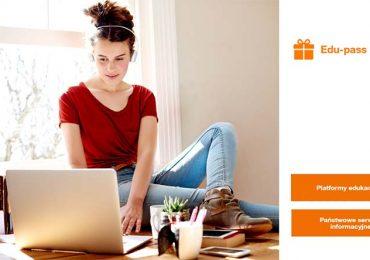 W Orange bezpłatny transfer danych na wybranych stronach edukacyjnych