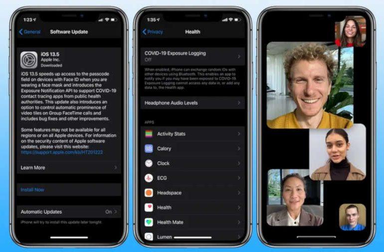 iOS 13.5 z funkcjami dostosowanymi do COVID-19 już dostępne!