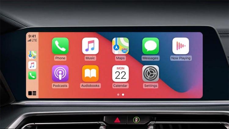 Mapy i CarPlay w iOS 14
