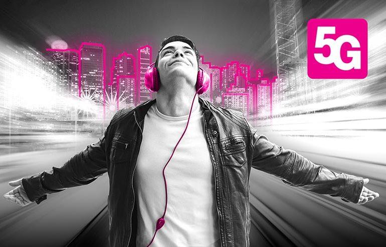 T-Mobile uruchamia 5G na szerszą skalę