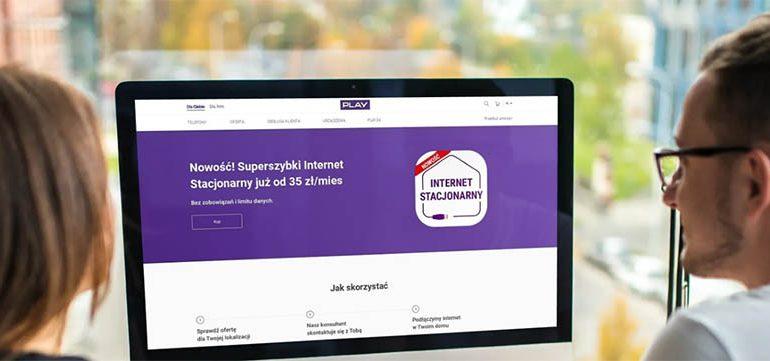Internet Stacjonarny Play za 35 zł i bezterminowo