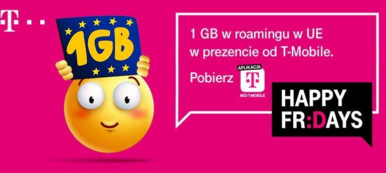 Darmowy GB w roamingu UE od T-Mobile