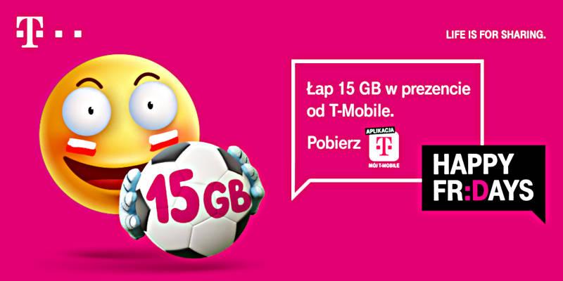 Piłkarskie 15 GB od T-Mobile!