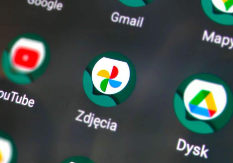 Nowa funkcja zdjęć Google