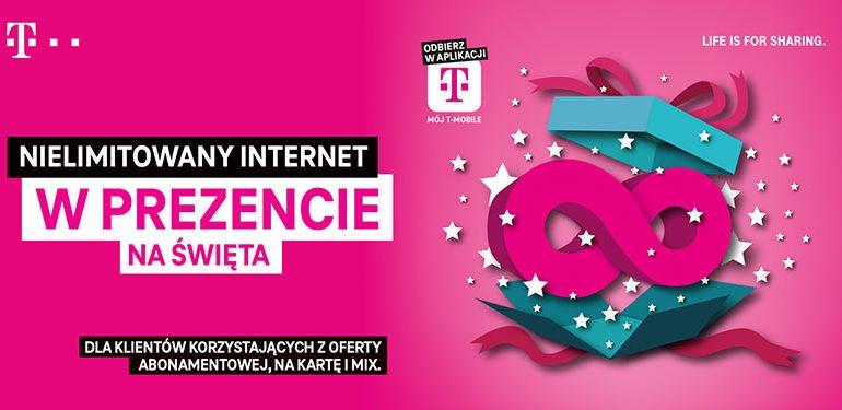 Nielimitowany internet w T-Mobile na 2 tygodnie