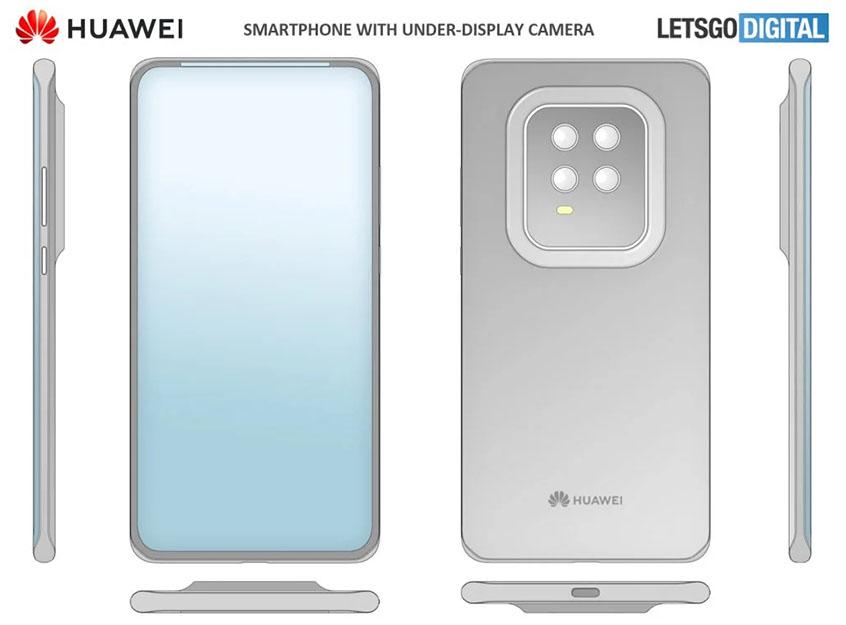 Huawei szkic patentowy
