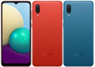 Samsung zaprezentował Galaxy A02 w czterech dżinsowych kolorach