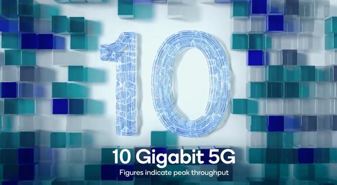 Nowy modem 5G z prędkości 10 GB/s