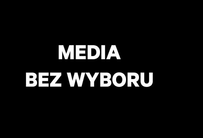 Czarne plansze w TV,  na Facebooku i komunikaty w radio - po co?