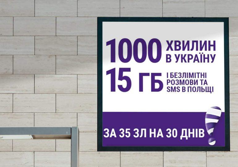 Nowe atrakcyjne pakiety z połączeniami na Ukrainę w Play na Kartę